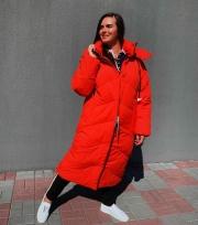 Куртка зимняя длинная, наполнитель Био-пух - 4 895 грн