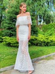 Платье кружево по фигуре, цена -8300 грн