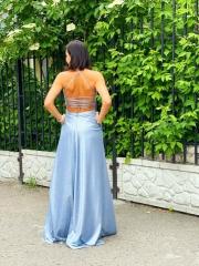 Платье блеск с разрезом, цена 5450 грн