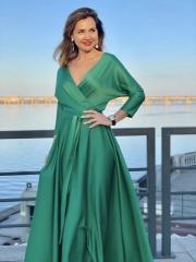 Платье Cloe - 5200 грн (зеленое, синее)