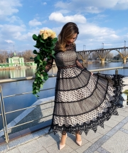 Платье кружево, цена 6 400 грн