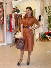 Платье эко кожа, цена 1950-20%=1560 грн