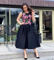 Платье миди, цена 6000-20%=4800 грн