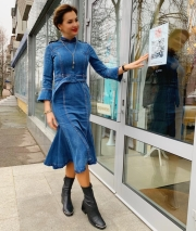 Платье джинс, цена 3700 грн