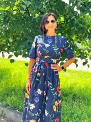 Платье легкий коттон Oscar DE LA Renta, цена 5200 грн