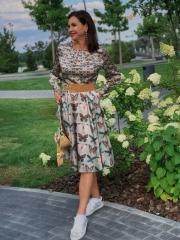 Платье шелк - 4700 грн, пояс - 900 грн