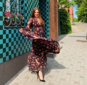 Платье шифон - цена 6750 грн