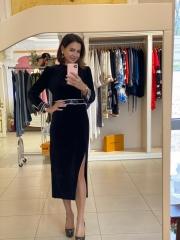 Платье велюр, цена 4500 грн