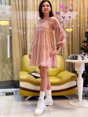 Платье велюр, цена 2900 грн