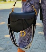 Сумка Седло Dior, кожа, цена 4800 грн